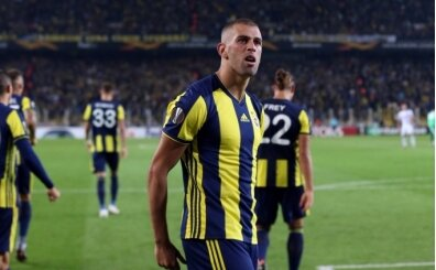 Fenerbahçe tarihine geçti; Islam Slimani