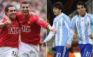 Tevez'den Messi - Ronaldo kıyaslaması
