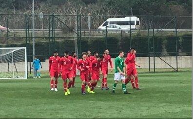 U18 Milli Takımı İrlanda'yı farklı geçti!