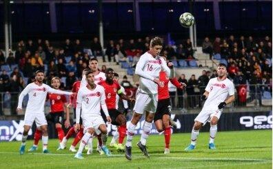 Ümit milliler, Avrupa Şampiyonası Elemeleri'nde Andorra ile karşılaşacak