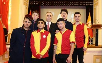 Galatasaray'da yeni üyeler için berat töreni yapıldı!