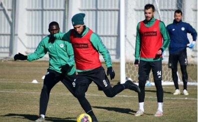 Konyaspor, Galatasaray hazırlıklarına devam etti