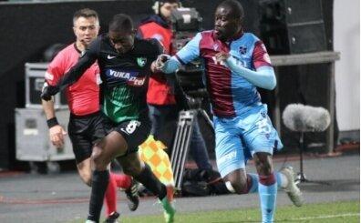 Trabzonspor, Yukatel Denizlispor karşısında zorlanıyor