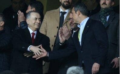 Ali Koç ve Mustafa Cengiz maçı birlikte izledi
