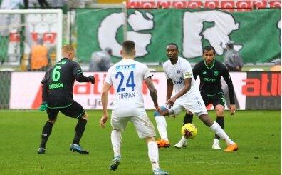 Konyaspor - Kasımpaşa maçında gol sesi çıkmadı