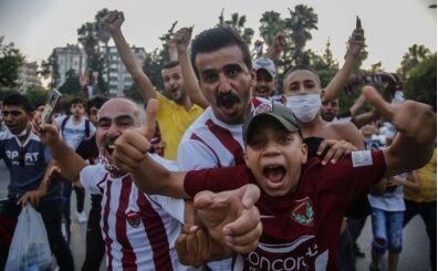 Hatayspor Süper Lig'de!