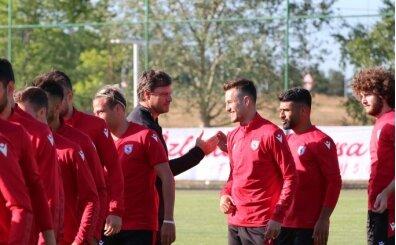 Yılport Samsunspor'un ikinci etap kampı Bolu'da başladı