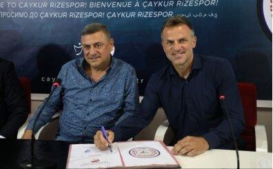 Çaykur Rizespor'da Stjepan Tomas dönemi başladı