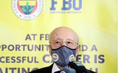 Vefa Küçük: 'Tüm öğrencilere Fenerbahçe Üniversitesini tavsiye ediyorum'