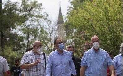 Bakan Kasapoğlu, Lefter Küçükandonyadis'i ziyaret etti