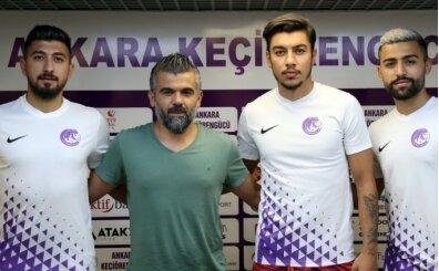 Ankara Keçiörengücü'nde 3 transfer