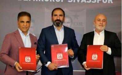 Sivasspor'da 2 yeni sponsorluk anlaşması