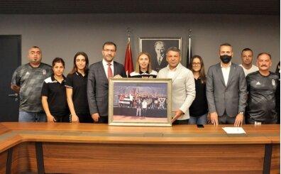 TAF Başkanı Fatih Çintimar'dan Beşiktaş Kulübüne ziyaret