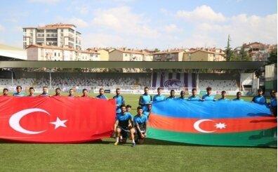 Ankara Keçiörengücü'nden Azerbaycan'a bayraklı destek