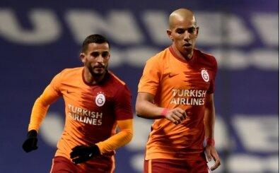 Galatasaray'da Feghouli yine kulübede