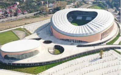 Çotanak Stadı artık bitmek üzere...