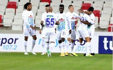 Rizespor, Sivasspor'u da yıktı!