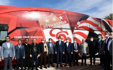 Sivasspor yeni takım otobüsüne kavuştu