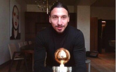 Ibrahimovic, 12. kez 'yılın futbolcusu' seçildi