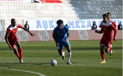 Erzurum'da 4 gollü maç; galibiyet hasretini bitiremediler