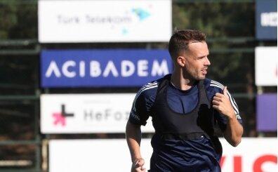 Fenerbahçe'de yeni transfer Filip Novak ilk antrenmanına çıktı