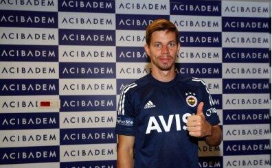 Fenerbahçe'de Zajc, sağlık kontrolünden geçti