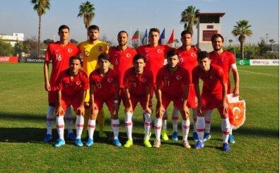 19 Yaş Altı Milli Futbol Takımı'nın aday kadrosu açıklandı