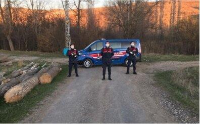 Çankırı'da bir köy koronavirüs nedeniyle karantinaya alındı