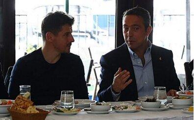 Ali Koç ve Emre Belözoğlu, takımdan umutlu