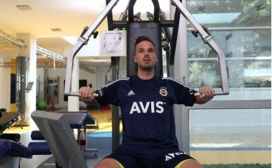 Fenerbahçe'de Zajc ve Novak, özel programla çalıştı