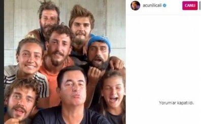 Survivor Instagram canlı yayın rekoru! Instagram Acun Ilıcalı'dan Survivor'da rekor