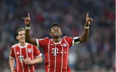 Alaba, Arsenal hayranı çıktı
