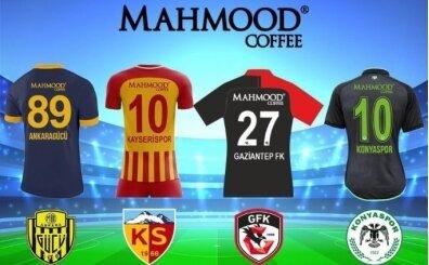 Mahmood Coffee'den 4 Süper Lig takımına sponsorluk desteği