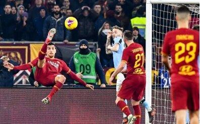 Cengiz Ünder oynadı, Roma derbisinde kazanan çıkmadı