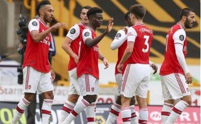 Arsenal, Wolverhampton'ı kayıpsız geçti