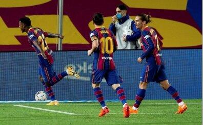 Barcelona ilk yarıda Villarreal'i bitirdi!