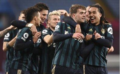 Aston Villa'nın galibiyet serisine Leeds United damgası