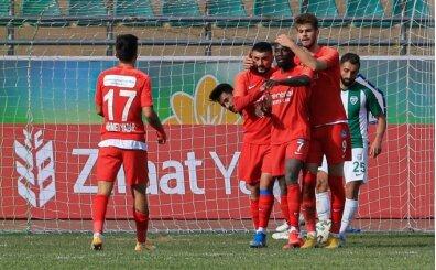 Tuzlaspor 5 golle turladı