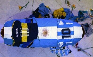 Büyük skandal! Maradona'nın tabutunu açıp fotoğraf çektiler