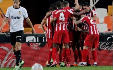 Atletico Madrid'in dikkat çeken serisi!