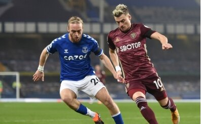 Leeds galibiyet hasretini Everton'a karşı dindirdi