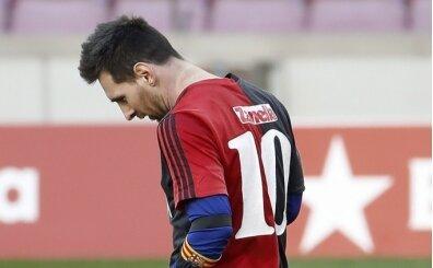 Messi'nin anma hareketi 3 bin avroya patladı