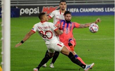 Giroud olayı abarttı, Sevilla'ya 4 gol!