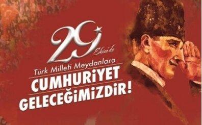 29 Ekim Cumhuriyet Bayramı paylaşımları, sözleri, mesajları, görselleri