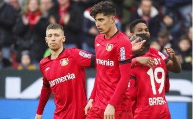 Leverkusen Havertz'le 3 puana uzandı