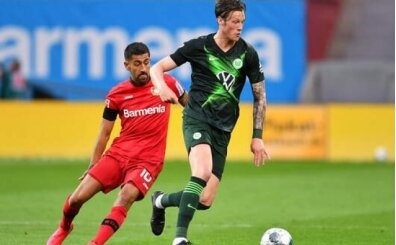 Wolfsburg Leverkusen'e kabusu yaşattı