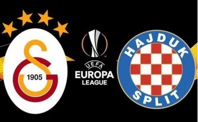 Canlı maç izle Galatasaray Hajduk Split şifresiz izle Smart spor