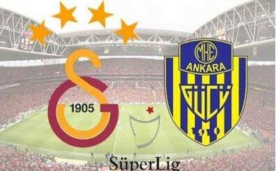 Galatasaray Ankaragücü maçı İZLE, CANLI Galatasaray Ankaragücü maçı burada