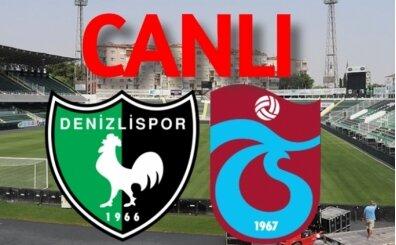 Denizlispor 2-1 Trabzonspor maçı, golleri izle