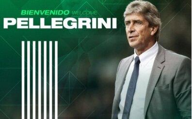 Real Betis, Manuel Pellegrini'ye emanet